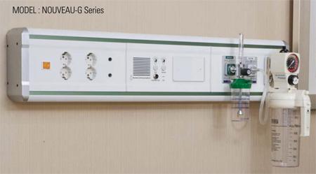 bed head panel kamar pasien rumah sakit