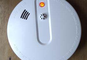 jual smoke heat detektor battery