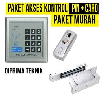 Paket murah akses kontrol pintu di denpasar